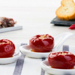 Gefüllte runde Chilipfeffer mit Thunfisch 100g