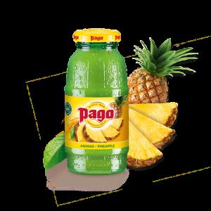 PAGO Ananas 0,2L