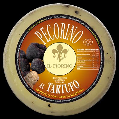 Pecorino mit Trüffel - Schafskäse - 100g