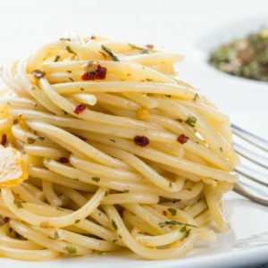 Vorbereitung für Spaghetti 100g