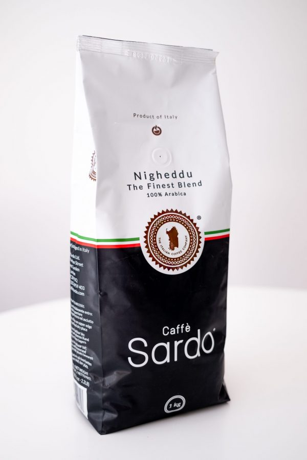 Caffè Sardo Nigheddu - The Finest Blend. 100% Arabica
