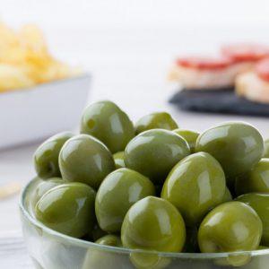 Süsse grüne Oliven Castelvetrano 100g
