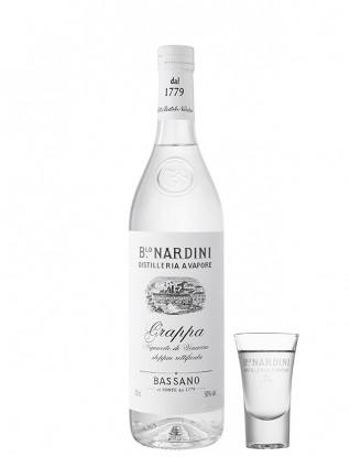Nardini Grappa Bianca 50% vol. 0,7L
